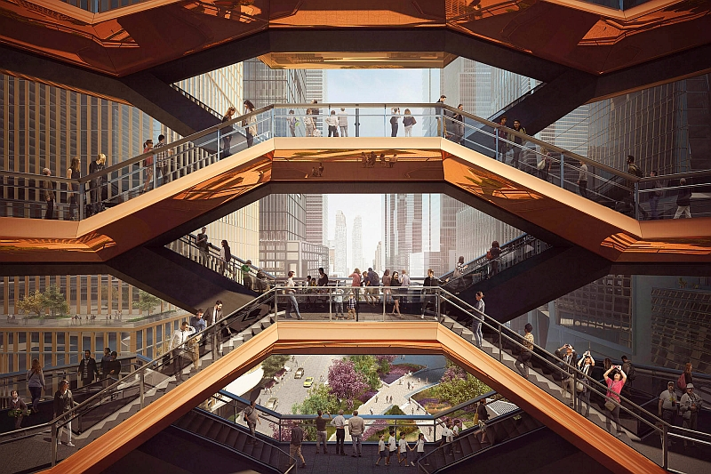 vessel hudson yards heatherwick studio vizualizacia dizajn new york design toptrendy