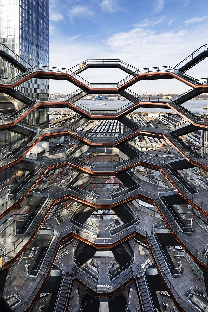 vessel vyhliadkova veza hudson yards heatherwick studio dizajn new york design toptrendy